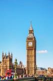Aperçu de Londres avec Elizabeth Tower Images libres de droits