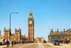 Aperçu de Londres avec Elizabeth Tower Photographie stock
