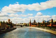 Aperçu de Moscou du centre Image libre de droits