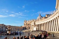 Aperçu de Piazza San Pietro Photographie stock