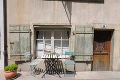 Aperçu des rues de ville des sièges sociaux de danikem du nuc Images stock