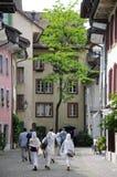 Aperçu des rues de ville des sièges sociaux de danikem du nuc Image stock