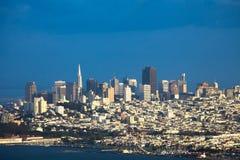 Aperçu du nord de voisinages à San Francisco photos stock