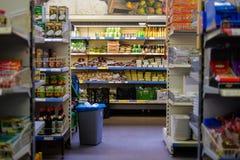 Aperçus d'un supermarché vietnamien image libre de droits