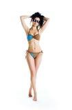 Aperfeiçoe mulheres tanned Foto de Stock Royalty Free