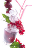 Aperitif. An aperitif non-alcoholic fruit royalty free stock images