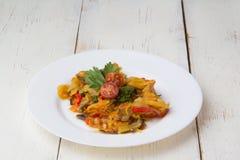 Aperitif - Gemüseeintopfgericht Stockfoto