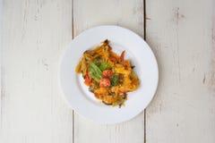Aperitif - Gemüseeintopfgericht Stockfotos