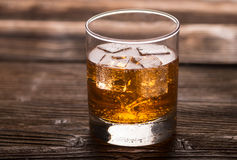 Aperitif with ice Royalty Free Stock Photo
