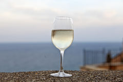 An aperitif at the Mediterranean Stock Photo