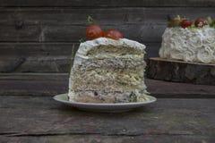 Aperitif mit Käse und Gemüse Stockfotos