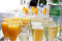 Aperitif is ready Royalty Free Stock Photos