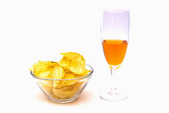 Aperitif seen from the front Stock Images
