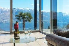 Aperitif on the veranda, interior Royalty Free Stock Photography