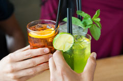 Free Aperitif With Friends Stock Photography - 59435332