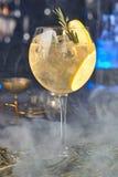 Aperitifcoctail med apelsinen och rosmarin Royaltyfria Foton