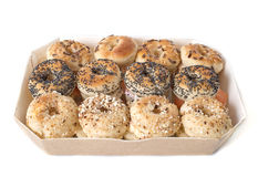 Aperitive bagel Stock Photo