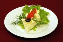 aperitivi delle insalate Fotografie Stock Libere da Diritti