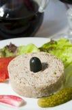 Aperitivo Córcega Francia del alimento del Terrine Foto de archivo libre de regalías