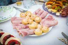 Aperitivo de la comida del cóctel Fotos de archivo libres de regalías