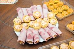 Aperitivo de la comida del cóctel Imagen de archivo libre de regalías