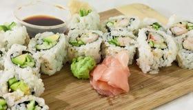 Aperitivo de Rolls del sushi Imagenes de archivo
