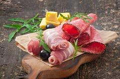 Aperitivo della carne Fotografie Stock