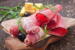 Aperitivo della carne Immagine Stock