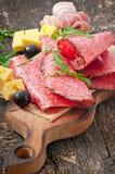 Aperitivo della carne Fotografie Stock Libere da Diritti