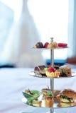 Aperitivo do alimento no dia do casamento Imagens de Stock Royalty Free