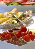 Aperitivo do tomate de cereja Foto de Stock
