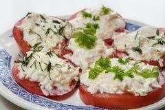 Aperitivo dos tomates Imagem de Stock