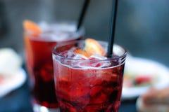 Aperitivo drink royaltyfri foto