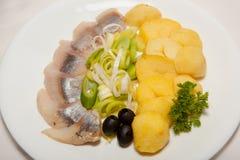 Aperitivo, ensalada, comida sabrosa, apetito imagen de archivo libre de regalías