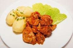 Aperitivo, ensalada, comida sabrosa, apetito fotografía de archivo libre de regalías