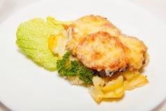 Aperitivo, ensalada, comida sabrosa, apetito imagen de archivo