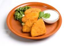 Aperitivo fritado do queijo Imagem de Stock Royalty Free