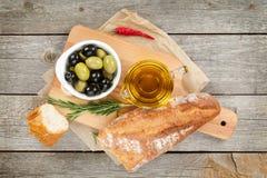 Aperitivo italiano do alimento fotografia de stock