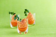 Aperitivo saudável da cenoura Foto de Stock