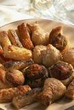 Aperitivos Assorted da pastelaria de sopro Imagem de Stock