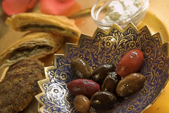 Aperitivos de Mezze Fotografia de Stock Royalty Free