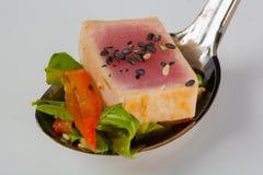 Aperitivos deliciosos de los mariscos - plato del abastecimiento Foto de archivo libre de regalías