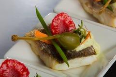 Aperitivos deliciosos de los mariscos - plato del abastecimiento Fotos de archivo