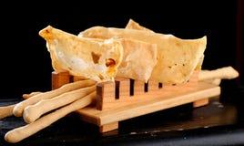 Aperitivos italianos de jantar finos Fotografia de Stock