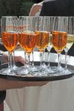 Aperol and Champagne Royalty Free Stock Photo
