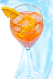 Aperol cocktail Stock Photography