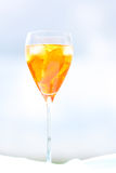 Aperol cocktail Royalty Free Stock Images