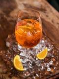 Aperol Spritz коктеиль Стоковое Изображение