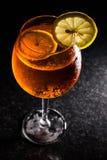 Aperol Spritz Cocktail Lizenzfreies Stockfoto