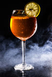 Aperol Spritz Cocktail Lizenzfreie Stockfotografie